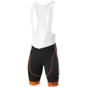 Löffler Gironde Gel Bike Bib Pants Men black/saffron